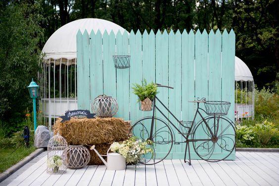 Велосипеды в декоре