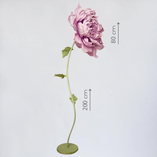 Гигантский цветок из бумаги в аренду