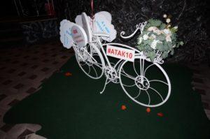 аренда кованного велосипеда