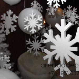 снежная фотозона