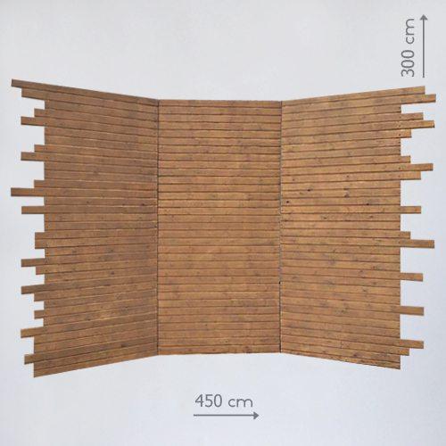 деревянный фон для президиума