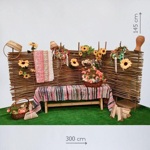 аренда деревенской фотозоны