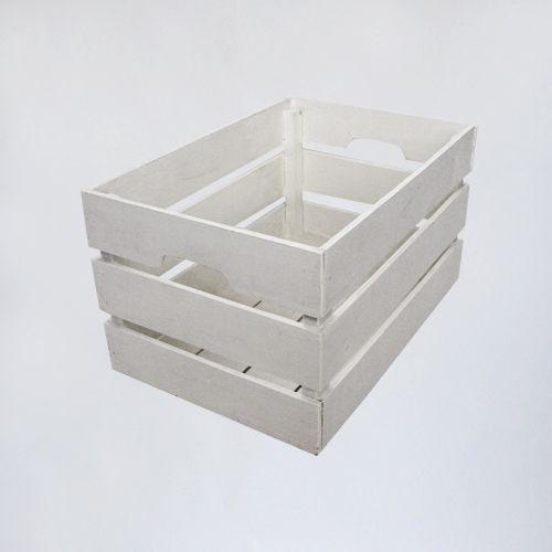 ящик деревянный белый
