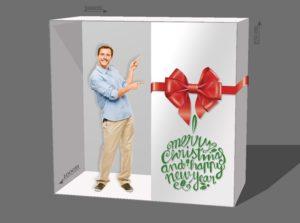 фотозона подарочная коробка