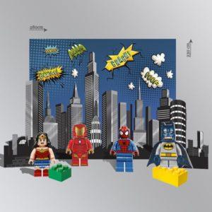фотозона в стиле лего