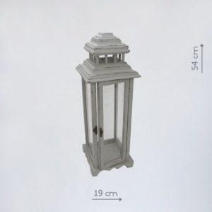 деревянный фонарь подсвечник