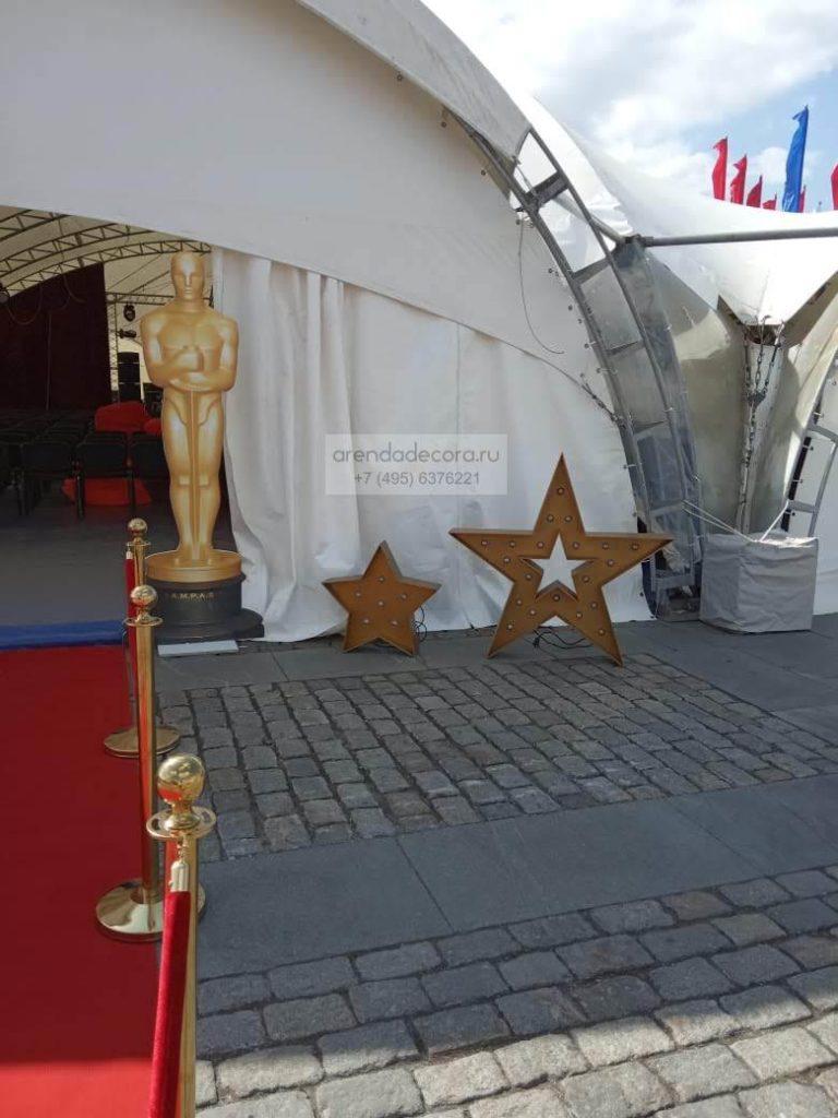 оформление фестиваля кино