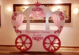 аренда декорации карета
